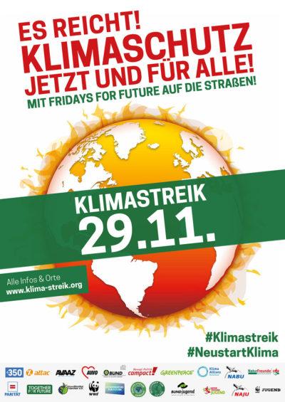 Plakat Klimastreik